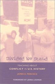 Cover of: Divided we stand