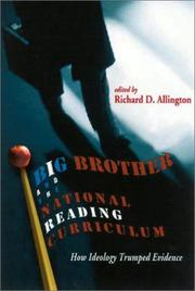 Cover of: Big Brother and the National Reading Curriculum