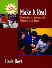 Cover of: Make It Real: Strategies for Success with Informational Texts