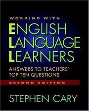 Cover of: Working with English Language Learners