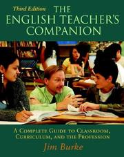 Cover of: The English Teacher's Companion