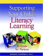 Cover of: Supporting Your Child's Literacy Learning (single copy)