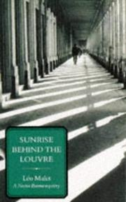 Cover of: Sunrise Behind the Louvre (Nestor Burma Mysteries)