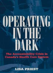 Cover of: Operating in the Dark