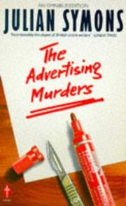 Cover of: The Advertising Murders