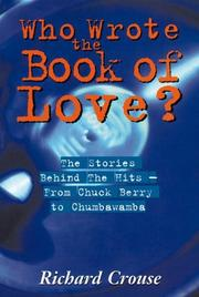 Cover of: Who Wrote the Book of Love