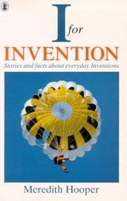 Cover of: I for Invention