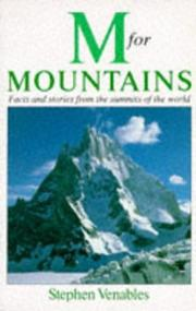 Cover of: M. for mountains