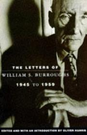 Cover of: Letters of William S. Burroughs: Book 2