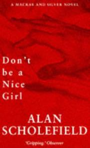 Cover of: Don't be a nice girl