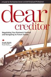 Cover of: Dear Creditor