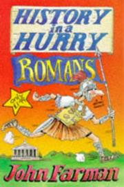 Cover of: Romans (History in a Hurry)