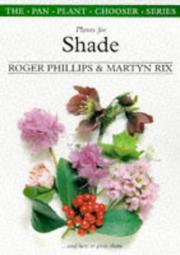 Cover of: Plants for shade
