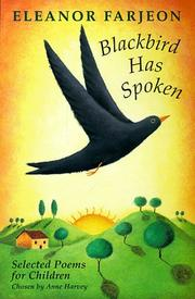 Cover of: Blackbird Has Spoken