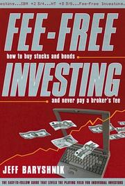 Cover of: Fee-Free Investing
