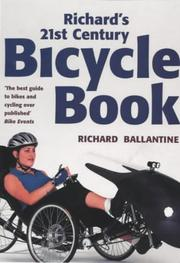 Cover of: Richard's 21st-century bicycle book