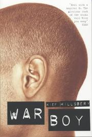 Cover of: War Boy
