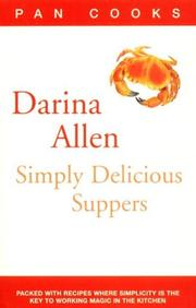 Cover of: Darina Allen's Simply Delicious Suppers (Pan Cooks)