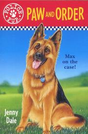 Cover of: Paw and order (Police pup)