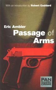 Cover of: Passage of Arms (Pan Classic Crime)