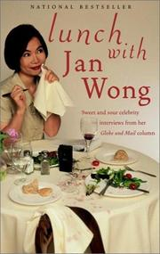 Cover of: Lunch With | Jan Wong