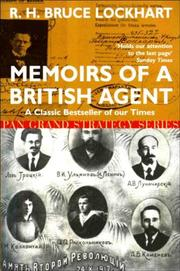 Memoirs of a British agent by R. H. Bruce Lockhart