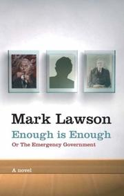 Cover of: Enough is enough, or, The emergency government