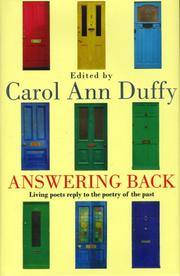 Cover of: Answering Back