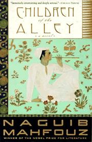 Cover of: Children of the Alley: A Novel