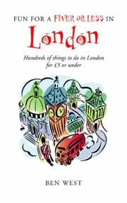 Cover of: Fun for a Fiver or Less in London | Ben West