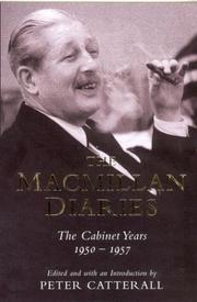 Cover of: The Macmillan Diaries | John Catterall