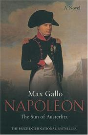 Cover of: The Sun of Austerlitz: A Novel (Napoleon series)