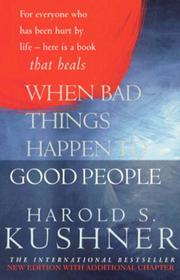 Cover of: When Bad Things Happen to Good People (Pan Self-discovery Series)