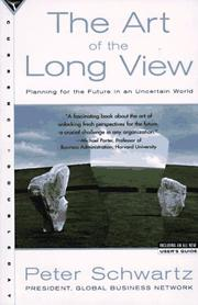 Cover of: The Art of the Long View | Peter Schwartz