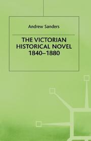 Cover of: The Victorian historical novel, 1840-1880