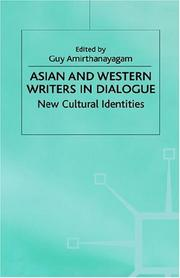 Cover of: Asian and Western Writers in Dialogue