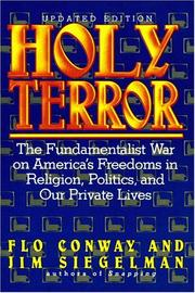 Cover of: Holy terror: fundamentalist war on America's freedoms in religion, politics, and our private lives