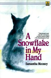Cover of: A snowflake in my hand