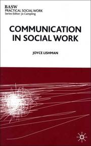 Cover of: Communication in Social Work (British Association of Social Workers (BASW) Practical Social Work)