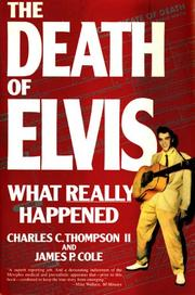 Cover of: Death of Elvis, The