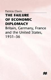 Cover of: The failure of economic diplomacy