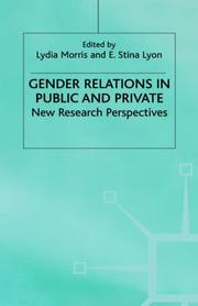 Cover of: Gender Relations in Public and Private |