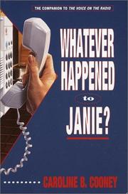 Cover of: Whatever Happened to Janie?