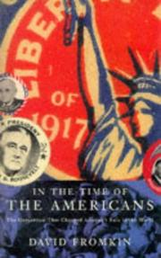 Cover of: In the Time of the Americans the Generat