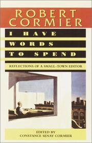 Cover of: I Have Words to Spend
