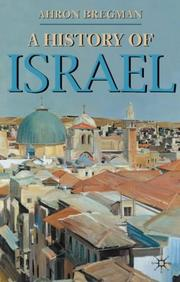 Cover of: A history of Israel