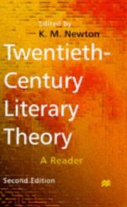 Cover of: Twentieth-century Literary Theory by K. M. Newton