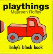 Cover of: Baby's Block Book - Playthings with Other (Baby's Block Books)