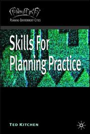 Cover of: Skills for Planning Practice (Planning, Environment, Cities)