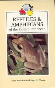 Cover of: Reptiles & Amphibians of the Eastern Caribbean (Caribbean Pocket Natural History S.) | Anita Malhotra